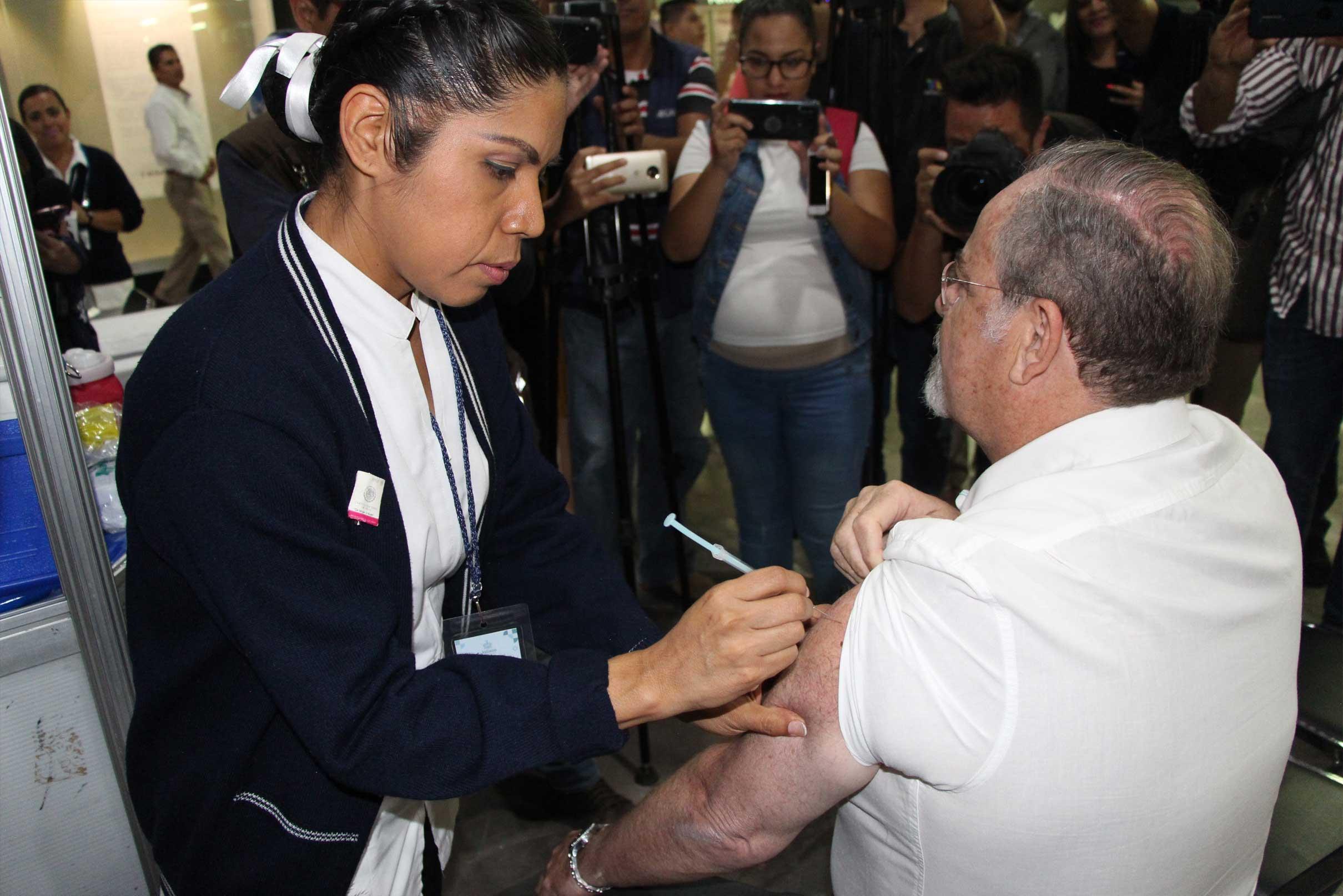 Arranca Ssj Vacunación Contra La Influenza Con Módulos