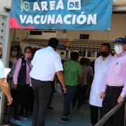 Vacunación contra COVID-19. 50 y 59 Años y Mujeres Embarazadas, CUCEI Tlaquepaque