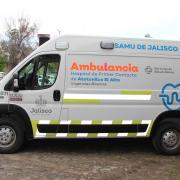 Entrega de ambulancias